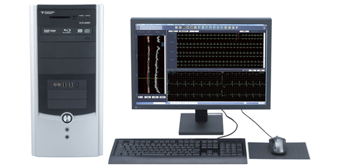 ホルター心電図解析装置
